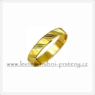 Snubní prsteny LSP 1965 žluté zlato