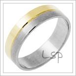 Snubní prsteny LSP 1967 kombinované zlato