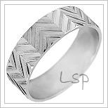 Zlaté snubní prsteny LSP 1969