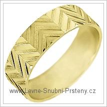 Snubní prsteny LSP 1969 žluté zlato
