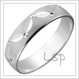 Zlaté snubní prsteny LSP 1977