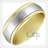 Zlaté snubní prsteny LSP 1981