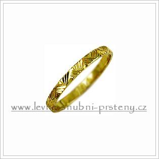 Snubní prsteny LSP 1991 žluté zlato