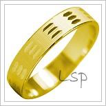 Snubní prsteny LSP 1997 žluté zlato