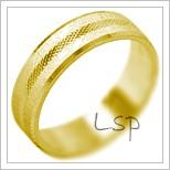 Snubní prsteny LSP 2009 žluté zlato