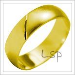 Snubní prsteny LSP 2020 žluté zlato
