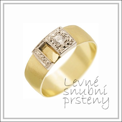 Snubní prsteny LSP 2021 žluté zlato