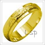 Snubní prsteny LSP 2024 žluté zlato