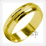 Snubní prsteny LSP 2030 žluté zlato