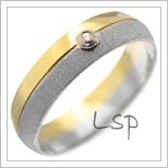 Snubní prsteny LSP 2077