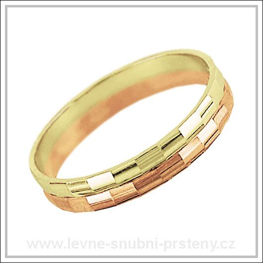 Snubní prsteny LSP 2078