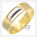 Snubní prsteny LSP 2084