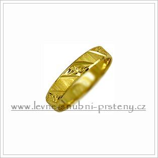 Snubní prsteny LSP 2121 žluté zlato
