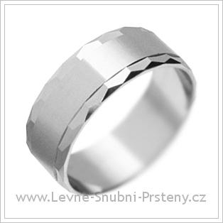 Snubní prsteny LSP 2148 bílé zlato