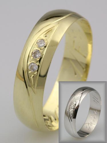 Snubní prsteny LSP 2163