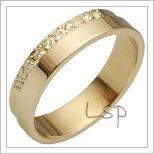 Snubní prsteny LSP 2186