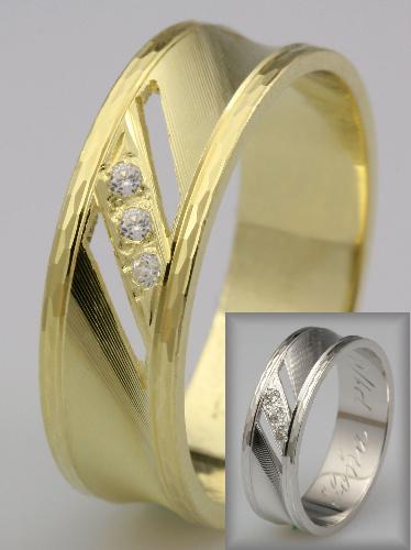 Snubní prsteny LSP 2211