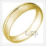 Snubní prsteny LSP 2222