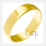 Snubní prsteny LSP 2223 žluté zlato