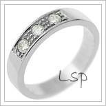 Snubní prsteny LSP 2225
