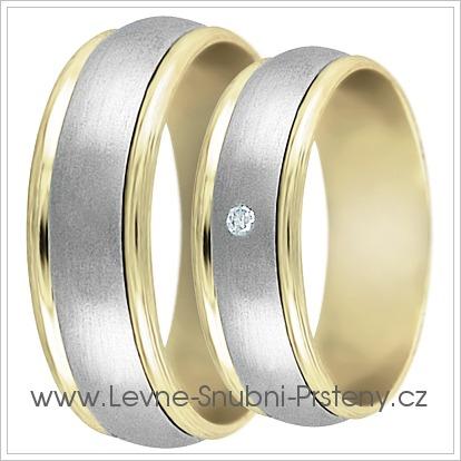 Snubní prsteny LSP 2226