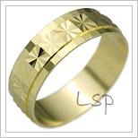 Snubní prsteny LSP 2248