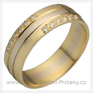 Snubní prsteny LSP 2291