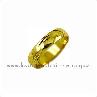 Snubní prsteny LSP 2303 žluté zlato