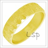 Snubní prsteny LSP 2311 žluté zlato