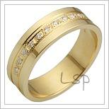 Snubní prsteny LSP 2342