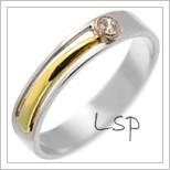 Snubní prsteny LSP 2343
