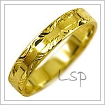 Snubní prsteny LSP 2350 žluté zlato
