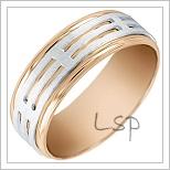 Snubní prsteny LSP 2386