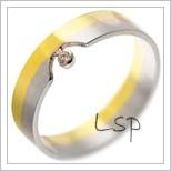 Snubní prsteny LSP 2387