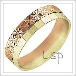 Snubní prsteny LSP 2413
