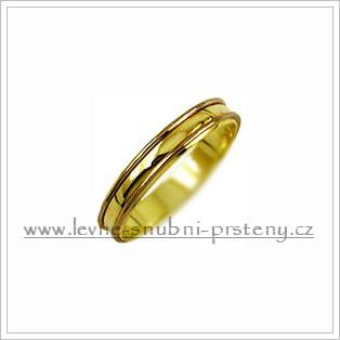 Snubní prsteny LSP 2418 kombinované zlato