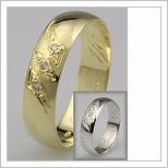 Snubní prsteny LSP 2427