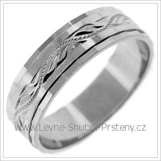 Snubní prsteny LSP 2431b žluté zlato