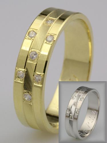 Snubní prsteny LSP 2435