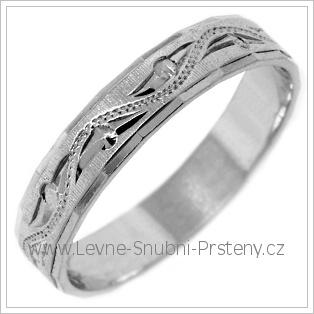 Snubní prsteny LSP 2444b žluté zlato
