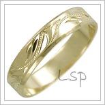 Snubní prsteny LSP 2446