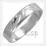 Snubní prsteny LSP 2446b