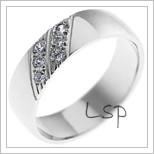 Snubní prsteny LSP 2447