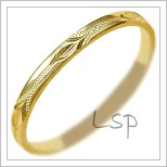 Snubní prsteny LSP 2450