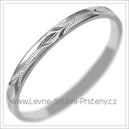 Snubní prsteny LSP 2450b žluté zlato
