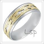 Snubní prsteny LSP 2451