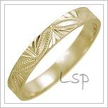 Snubní prsteny LSP 2453