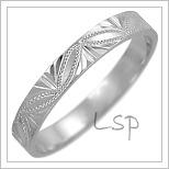 Snubní prsteny LSP 2453b