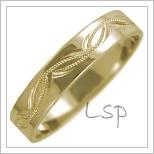 Snubní prsteny LSP 2455