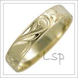 Snubní prsteny LSP 2459